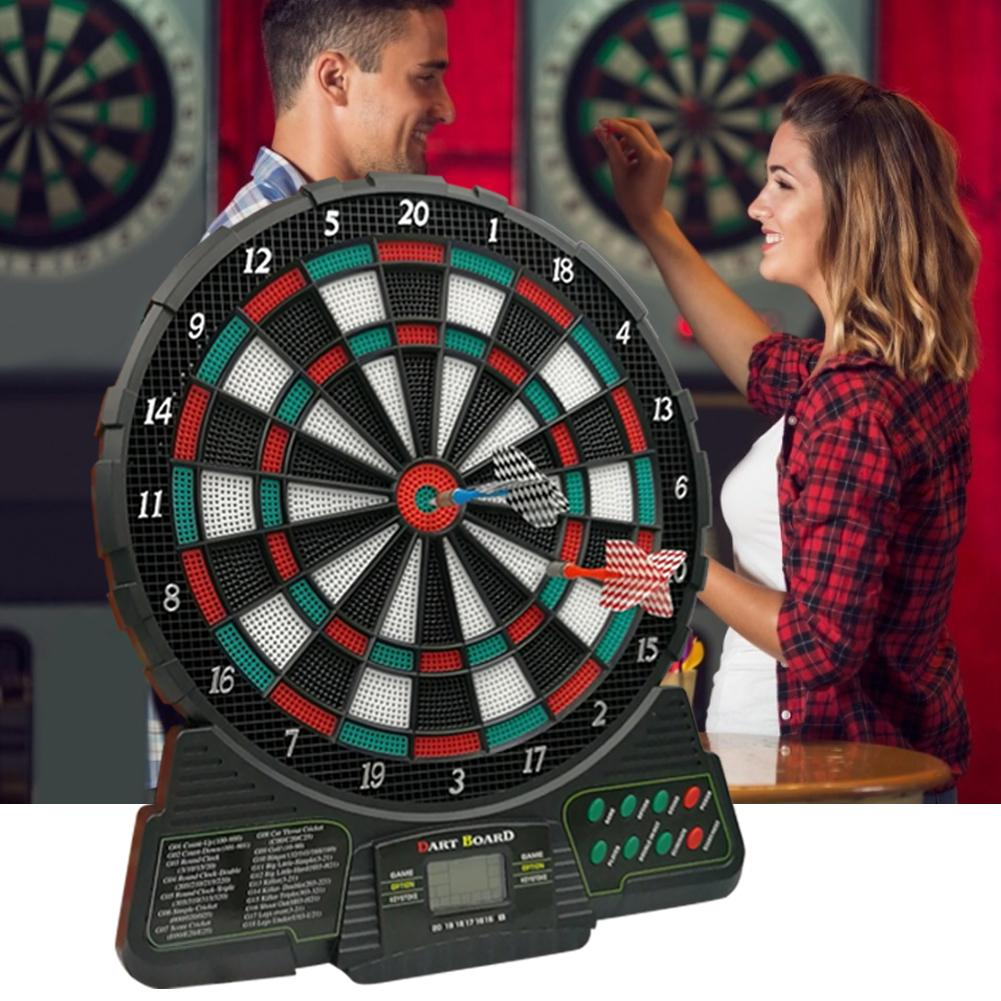 For JH489 Automatic Scoring Electronic Darts Target Security And Leisure Entertainment 18-Games 159 Kinds Of Gameplay