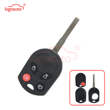 okeytech replacement flip remote control car key shell for ford focus fiesta 2013 fob case hu101 blade key blank car accessories Kigoauto OUCD6000022 Remote car key case shell  HU101 4 button for 2013 Ford Focus