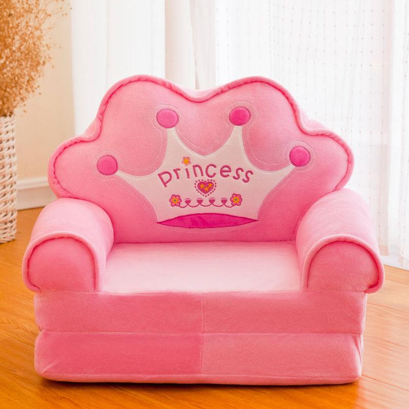 Детский складной маленький диван-кровать для сна мультяшный милый ленивый лежачий стул Съемный и моющийся детский диван детское кресло 6