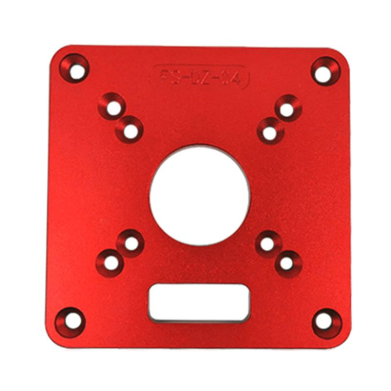 Universal RT0700C Aluminium Router Table Insert Plate Woodworking Benches