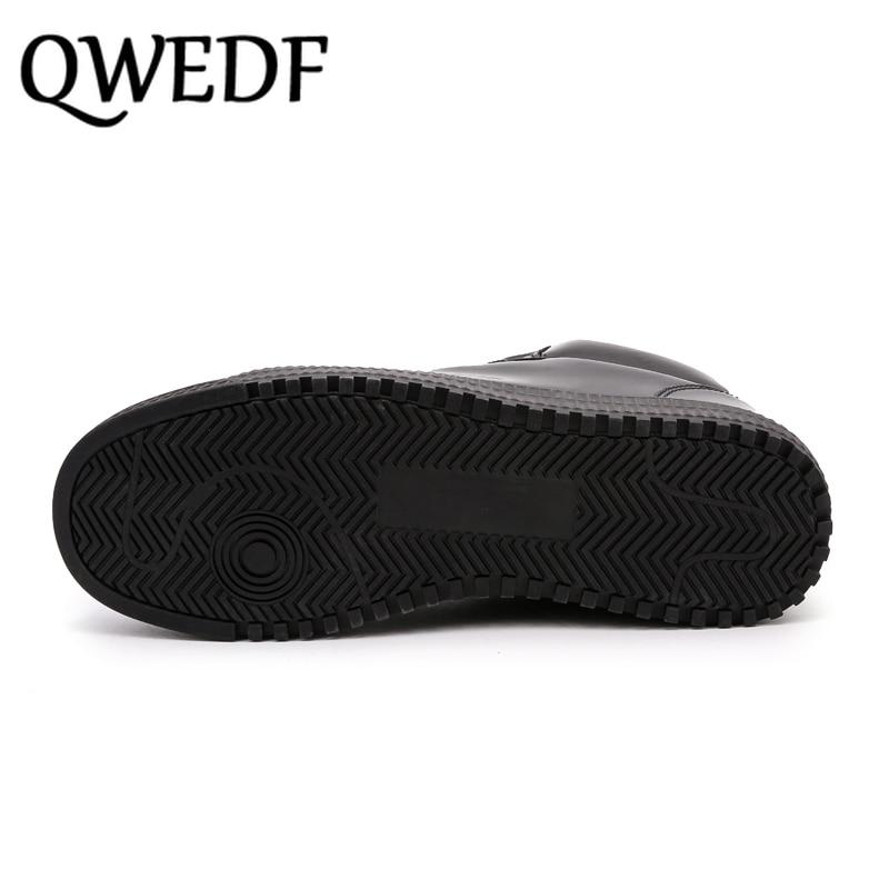 QWEDF2019 femmes chaussures vulcanisées baskets dames à lacets décontracté Basket chaussures marche Bling miroir en cuir plat argent chaussure SE-92 - 6