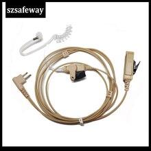 Headset Earpiece Acoustic-Tube Walkie-Talkie Motorola Cp200 Two-Way-Radio Gp300 Cp040