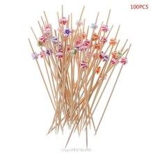 Vegetable-Sticks Toothpicks Cocktail Fruit Cake Salad-Fork Dessert-Buffet Muffin Flower