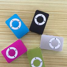 Fashion Mini Lightweight Portable Card Inserting MP3 Player Sports Music Player High-definition Sound MP3Red(China)