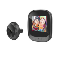 Camera Peephole-Viewer Door Digital Night-Vision Home-Security IR for TFT Photo-Taking