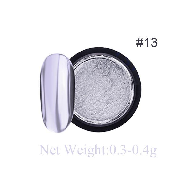 Rose Gold Bubble Mirror Powder Metallic Nail Glitter Holographics Chrome Dust Sparkling Flakes Pigment Manicur Nail Art Decor 65