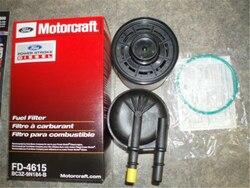 Nowy oryginalny Motorcraft 2011 16 filtr paliwa BC3Z 9N184 B 6.7L Diesel FD4615 OEM w Filtry paliwa od Samochody i motocykle na