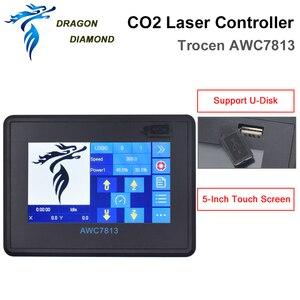 Image 5 - Sistema de controlador láser Co2 DSP, reemplazo de 708S 708C LITE para máquina de grabado y corte láser Co2 AWC7813