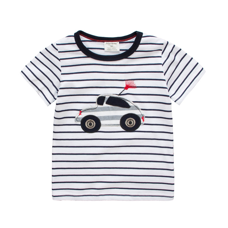 2020 Boys T shirt Kids Clothes T-shirt Summer Top Car Tshirt koszulki koszulka roupa infantil boys tshirts Cartoon Tee shirt New 3