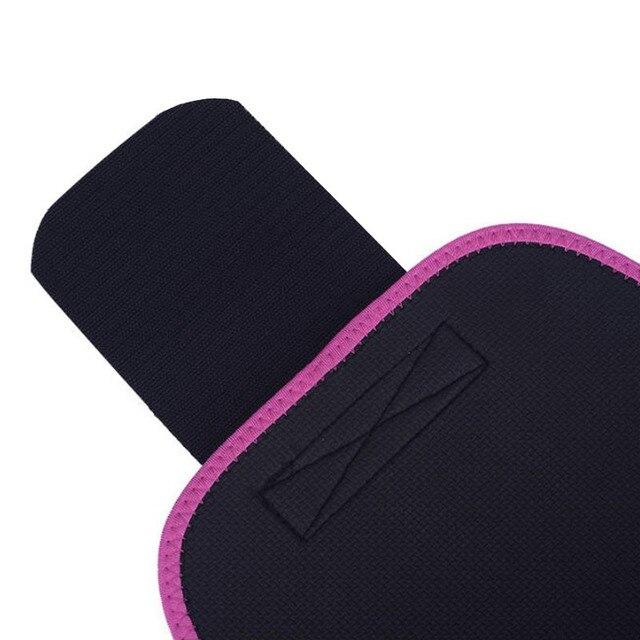 1PC Neoprene Waist Trimmer Belt Weight Loss Sweat Band Wrap Fat Tummy Stomach Sauna Sweat Belt Jogging Losing Weight Wrap 4