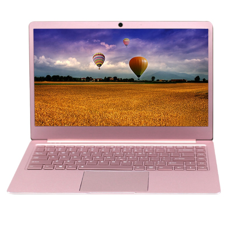 HOT-14.1Inch Laptop 8GB RAM SSD Intel J3455 CPU 1920X1080P Dual Band WIFI Ultrathin Laptop Notebook US plug Add EU adapter image