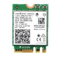 Sem Fio de Banda dupla-AC 9260 para Intel NGFF 9260NGW 802.11Ac MU-MIMO 1730 480mbps 5gbps 1.73 WiFi + Bluetooth 5.0 cartão Fit Windows 10