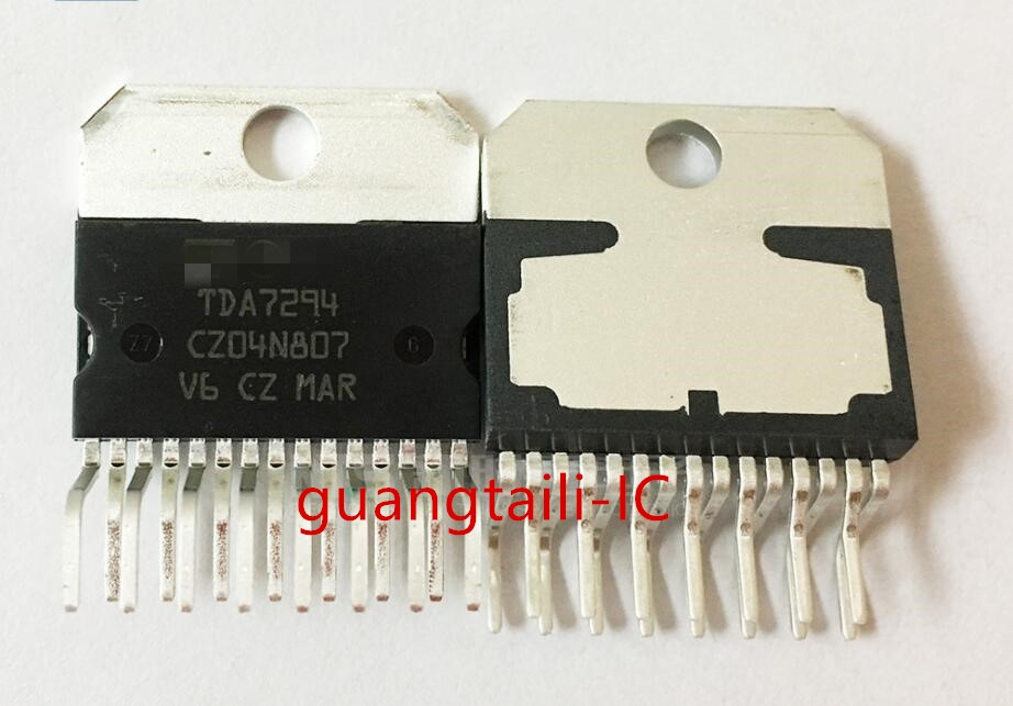 10PCS TDA7294 7294 ZIP-15 Single Chip Audio Power Amplifier Chip New Original