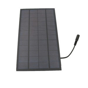 Image 5 - Solar panel 12V 7W with 5.5*2.1 DC Connector For Solar Powered Water Pump Solar Power System Cell Phone Charger DIY Toy