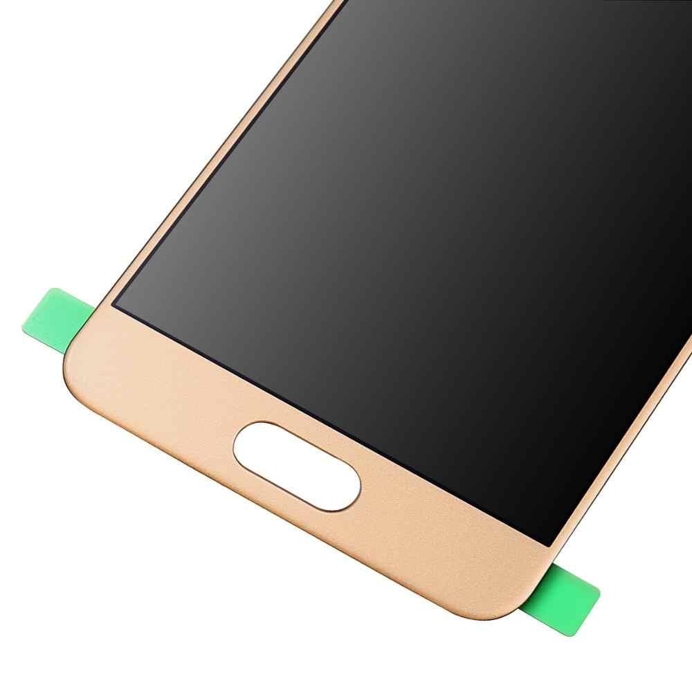 Puede ajustar el brillo TFT LCD para Samsung Galaxy A3 2016 A310 A3100 SM-A3100F A310F A310H pantalla LCD + digitalizador de pantalla táctil