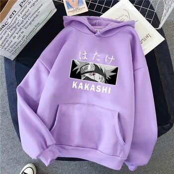 Аниме персонаж аниме Наруто Какаши Хатаке Шаринган дизайн для мужчин и женщин, худи, толстовка из флиса теплая уличная аниме унисекс Прямая поставка одежды|Толстовки и свитшоты|   | АлиЭкспресс