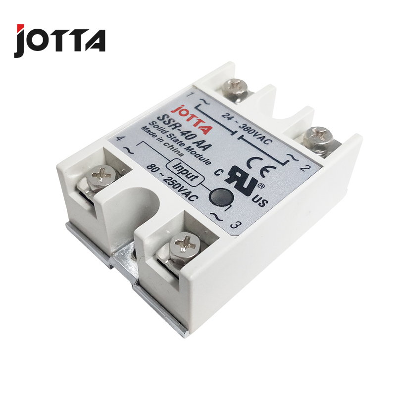 SSR 10AA 25AA 40AA AC control AC SSR white shell Single phase Solid state relay in Relays from Home Improvement