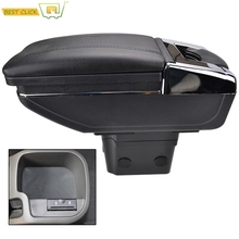 Center Console Armrest Storage Box For Chevrolet Cruze / Holden Cruze 2009 2010 2011 2012 2013 2014 2015 Rotatable Arm Rest