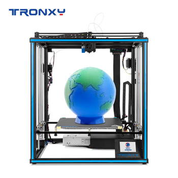 Nowy Tronxy X5SA-2E X5SA-400-2E X5SA-500-2E 3D drukarki duża budować objętość 330*330 400*400 500*500mm do wyboru cisza płyty głównej tanie i dobre opinie CN (pochodzenie) 1 75mm 40mm s up to 100 degree 0 1-0 4mm English Chinese 100mm s 20-100mm s PLA ABS HLPS TPU WOOD PC and so
