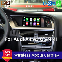 Sinairyu WIFI Drahtlose Apple Carplay für Audi Auto Spielen Retrofit 2010 2016 A4 A5 Q5 2009 2011 A6 a7 A8 Q7 MMI Android Mirroring