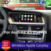 Sinairyu WIFI Wireless Apple Carplay for Audi Car Play Retrofit 2010 2016 A4 A5 Q5 2009 2011 A6 A7 A8 Q7 MMI Android Mirroring