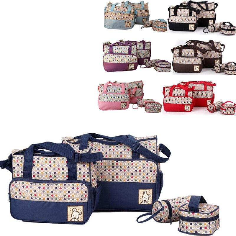 新しいおむつバッグおむつバッグファッション女性旅行ハンドバッグベビー看護マタニティーバッグ luiertas ため 1 ショルダーベビーバッグ
