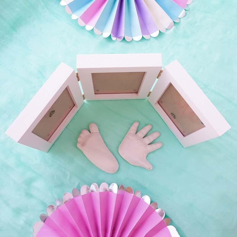 Handprint Footprint Children's Photo Frame 8