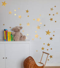 Harmonische Stern Wand Aufkleber Sterne abnehmbare Wandaufkleber Kinder Baby Zimmer Dekor Kunst Wandaufkleber Wand Papier Dekoration