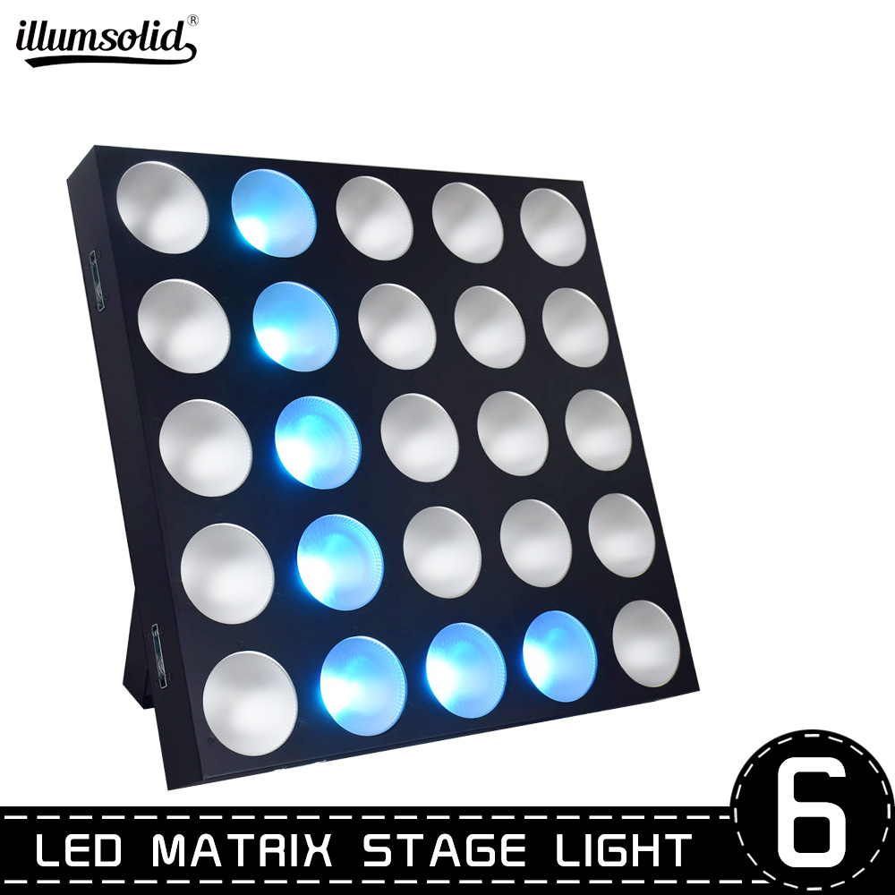 25x10w 3 In 1 RGB LED Matrix Blinder Pixel Panel Beam Light Magic Effect Light DMX512 Disco DJ Stage Lighting,party For Stage
