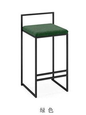 Скандинавские барные стулья модный современный минималистичный барный высокий барный стул Домашний Персональный барный стул Креативный дизайн стул 66 см высота сиденья - Цвет: 65cm seat height D