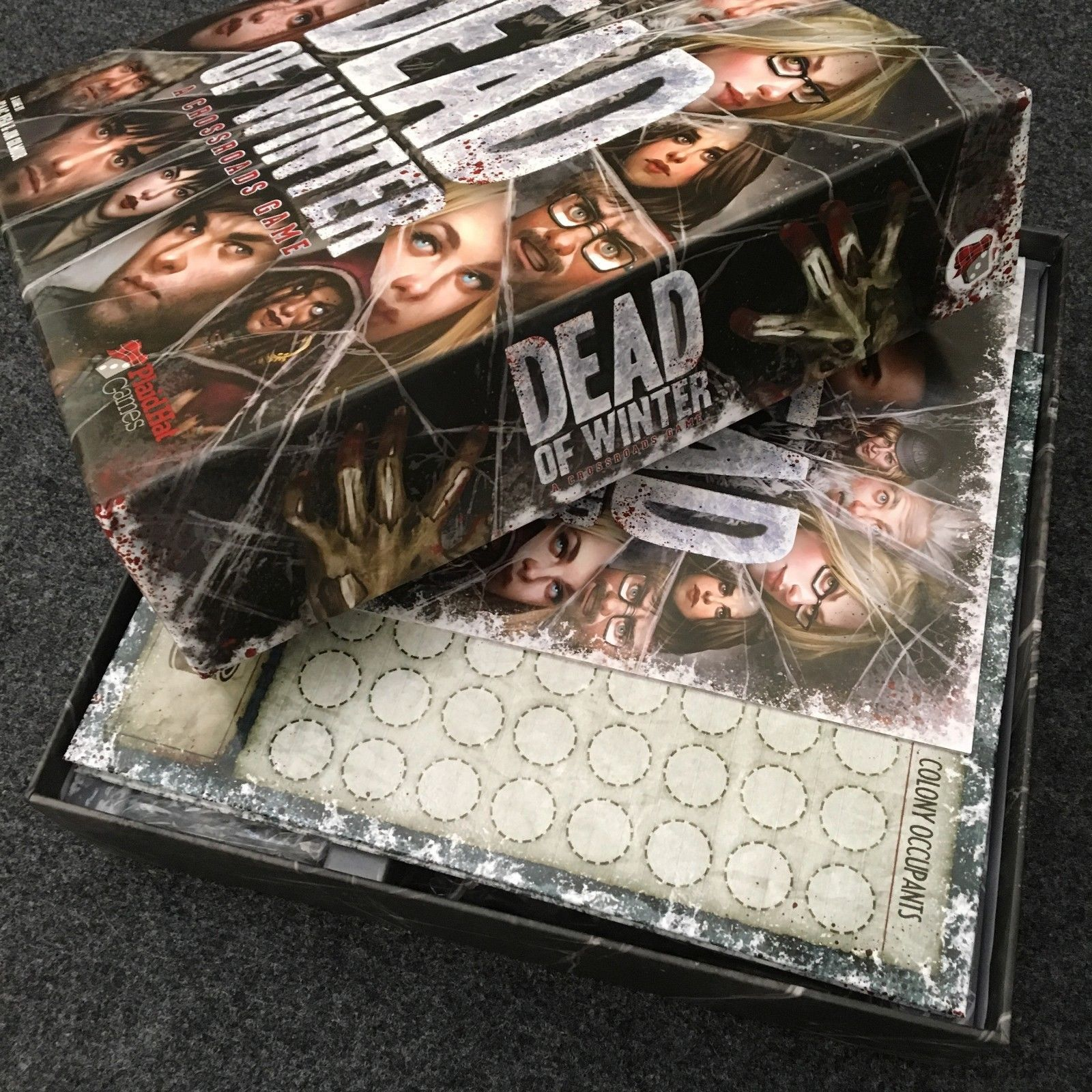 Dead Of Winter Death Winter Fully English Educational Table Checkerboard Card Game