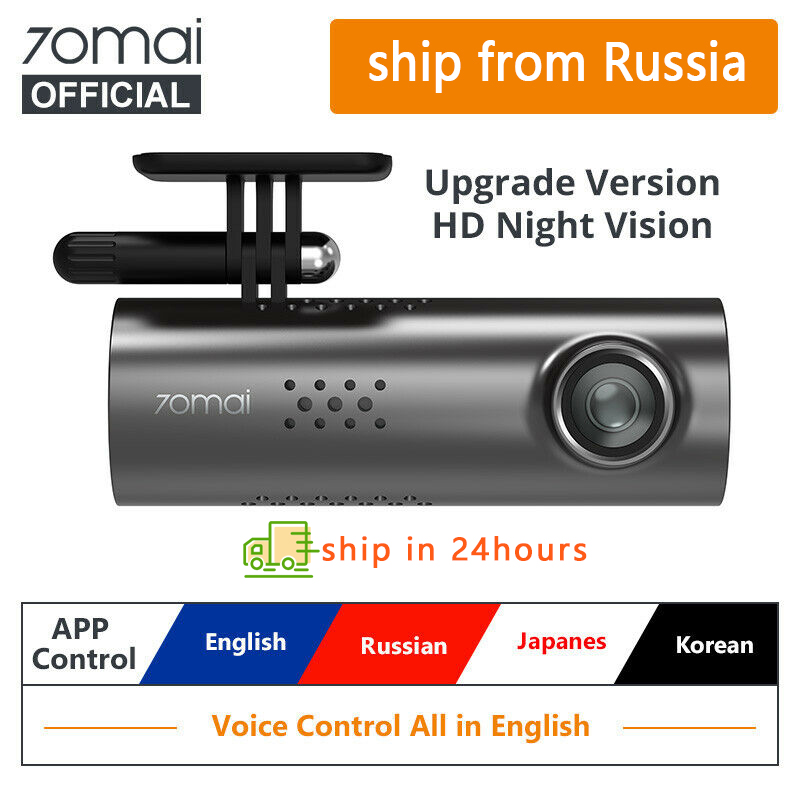 70mai Car DVR Car-Camera-Recorder Voice-Control Dash-Cam Wifi Night-Vision 1080P Original