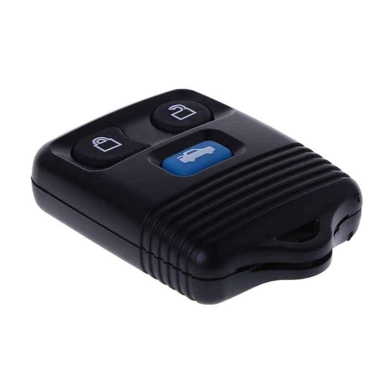 3 botões de substituição remoto chave escudo keyless entrada fob caso para ford escape transit mk6 conectar 2000-2006 chave do carro automático