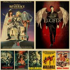 Room-Decor Wall-Stickers Retro Posters Fiction Movie Art Prints Kill-Bill/pulp Vintage