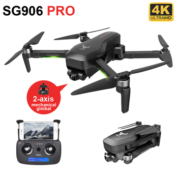 ZLRC SG906 Pro 2 Axis Gimbal BEAST GPS Drone with 4K HD Camera  5G WiFi Professional Brushless Quadcopter 50X Zoom RC Dron 3 axis lightweight 1080p hd 10x zoom drone aerial camera uav gimbal camera