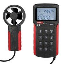 UNI-T UT361 Wind Speed Meter Anemometer Air Flow Meter Tachometer Anemoscope can measure temperature/wind speed/wind count. anemometer air flow speed temperature meter am4836v am 4836v page 5