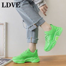 2019 Autumn Casual Shoes for Women Fashion Breathable Outdoor Sneakers Flats Vulcanize