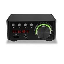 Grade HIFI Wirless 5.0 Digital Power Audio Amplifier board Stereo AMP Amplificador Home Theater USB TF Card Player tda7498 bluetooth amplifier audio board dual channel 2x50w stereo amp digital power amplifiers support tf card aux home theater