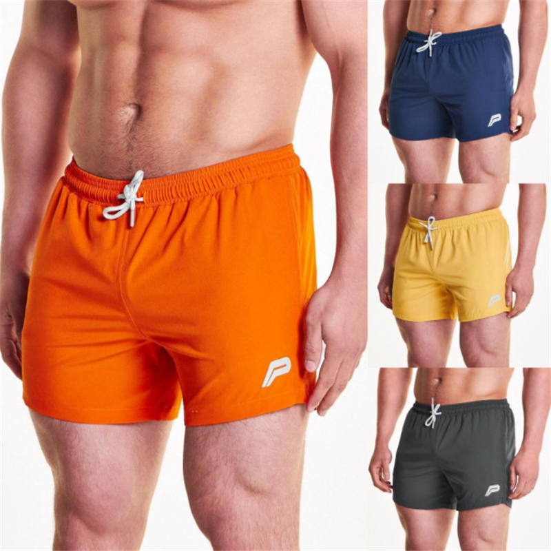 Mens Breathable Shorts Fitness Bodybuilding Fashion Casual Gyms Male Joggers Workout Brand Beach Slim Short Pants Size M-XXL