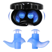 1 Pair Noise Reduction Silicone Soft Ear Plugs Swimming Silicone Earplugs Protective For Sleep Comfort Earplugs
