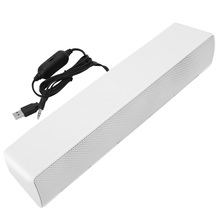 Surround Soundbar Speaker Wired Computer Speakers Stereo Subwoofer Sound Bar For Laptop PC Theater TV Aux 3.5mm