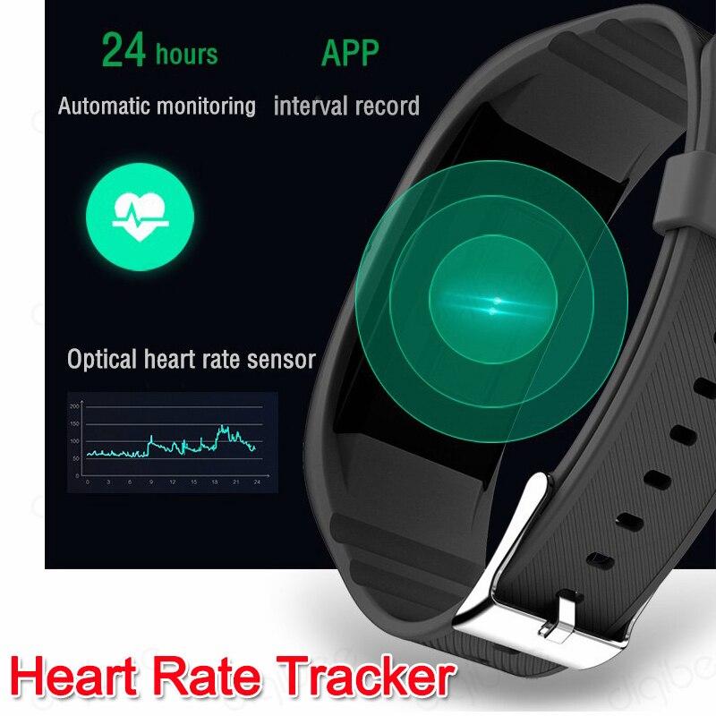 Умный браслет с сенсорным экраном, шагомер, калории, монитор сердечного ритма, умные часы, камера HD 1080 P, видео Диктофон, спортивный DV - 6