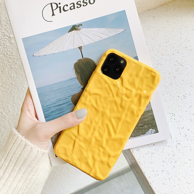 Image 4 - Soft Cell Phone Case for iphone8case Cute silicone for iphone 11Pro X XR XS Max  7 6 cover with personality surface