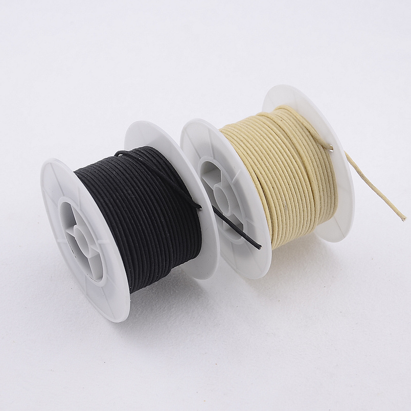 【Made In USA】 Vintage Cloth Braided Push Back Wire For  Electric Guitar  Bass