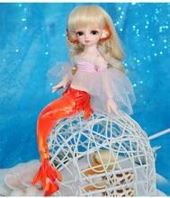 AETOP BJD bebek 1/6 BJD / SD bebek Serin riko bebek eklemli bebek sevimli denizkızı sürümü
