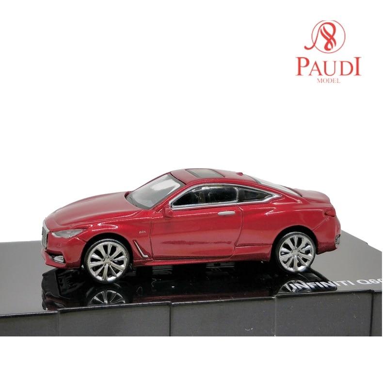 Paudi Model 1:64 Nissan Infiniti Q60 2017 Die-cast Model Car