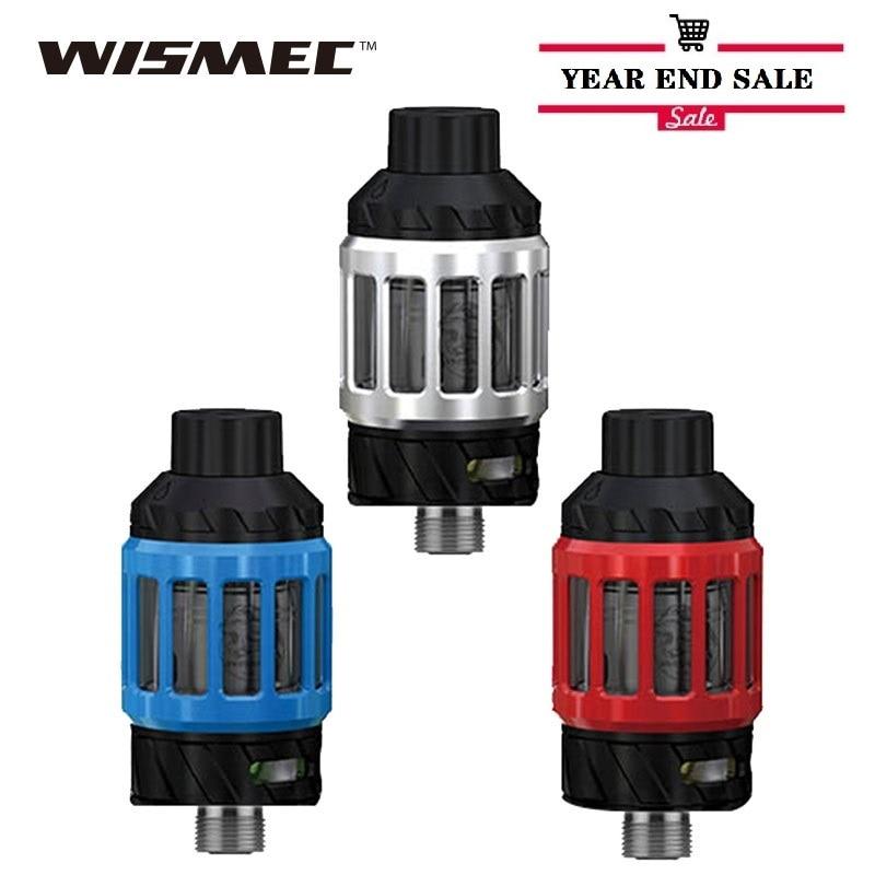 Hot Original WISMEC KAGE Atomizer With 2.8ml Capacity 28mm Diameter 510 Thread Electronic Cigarette Vape Tank Vs Melo 4/ Zeus X