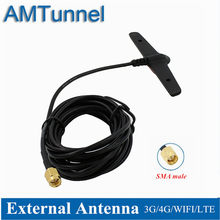 Antenne 4G Lte Antenne 5dBi 2.4 Ghz Wifi Antenne Sma Male 3 M B315 Outdoor Antenne Voor Huawei B525 b310 B593 Zte Routers(China)