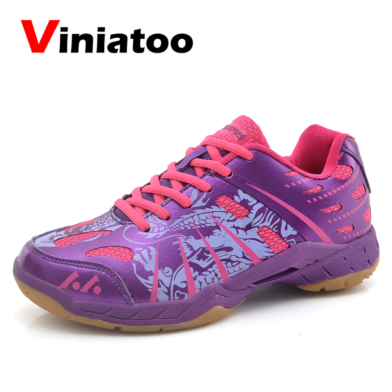 New Brand Volleyball Sneakers Women Men Professional Badminton Shoes For Couples White Blue Lightweight Table Tennis Trainers