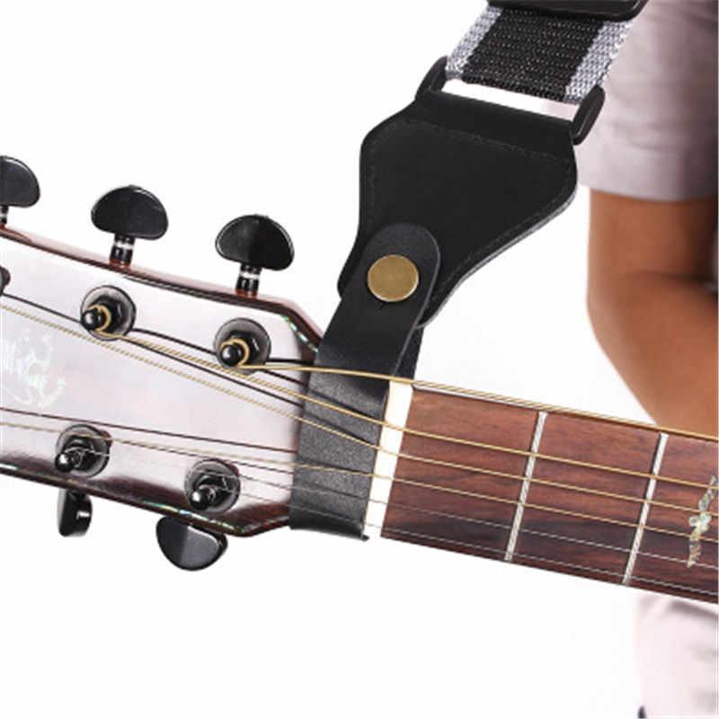 Correa guitarra algodón pura ajustable para bajo eléctrico acústico accesorios